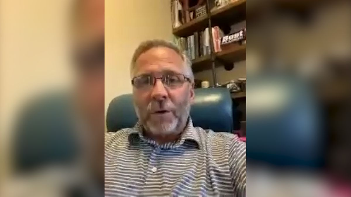 Rep. Mike Bost discusses Illinois' reopening plans, COVID-19 issues in his district via a Zoom interview. (Source: GrayDC)