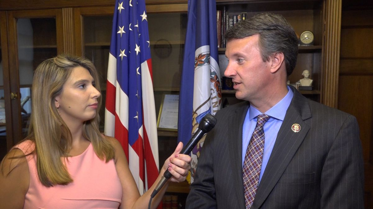 Rep. Ben Cline (R-VA) talks about his participation in the scheduled Congressional hearing with former special counsel Bob Mueller. He discusses some of his potential concerns and questions with DC Correspondent Alana Austin. (Source: GrayDC)