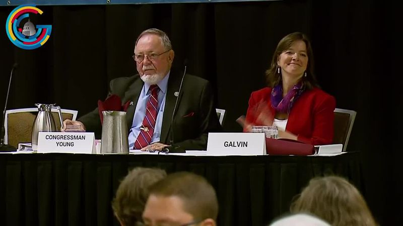 Alyse Galvin is one of two independents trying to shake up the Alaska federal delegation.