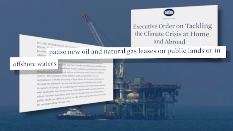 Industry experts weigh in on the impact of President's Biden's order targeting oil and gas