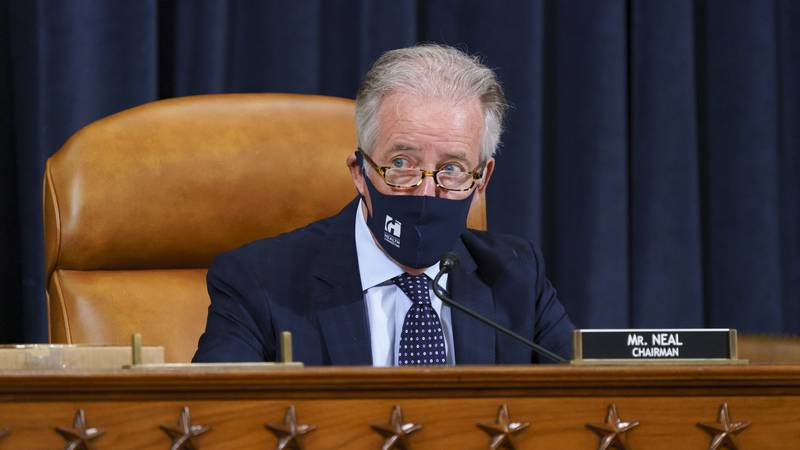 House Ways and Means Committee Chairman Richard Neal, D-Mass., presides over a markup hearing...