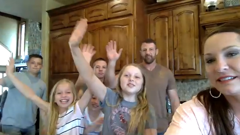 Rep. Markwayne Mullin (R-OK) and his family talked about their experiences in quarantine...