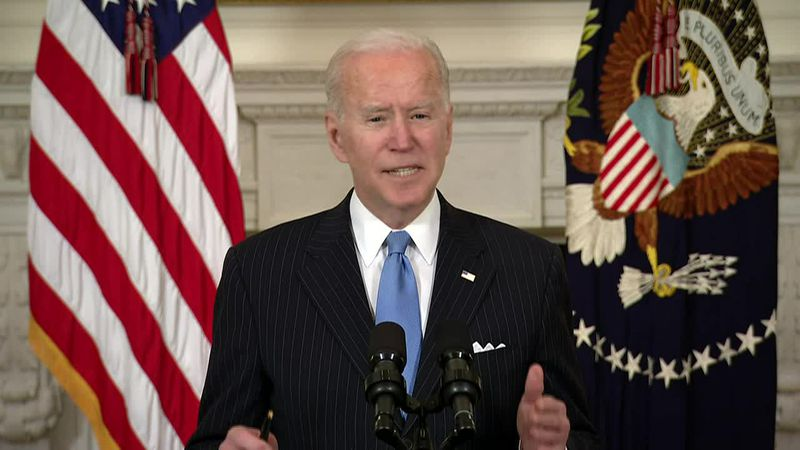 """The Biden administration says it's committed to working with Congress to """"ensure that the..."""