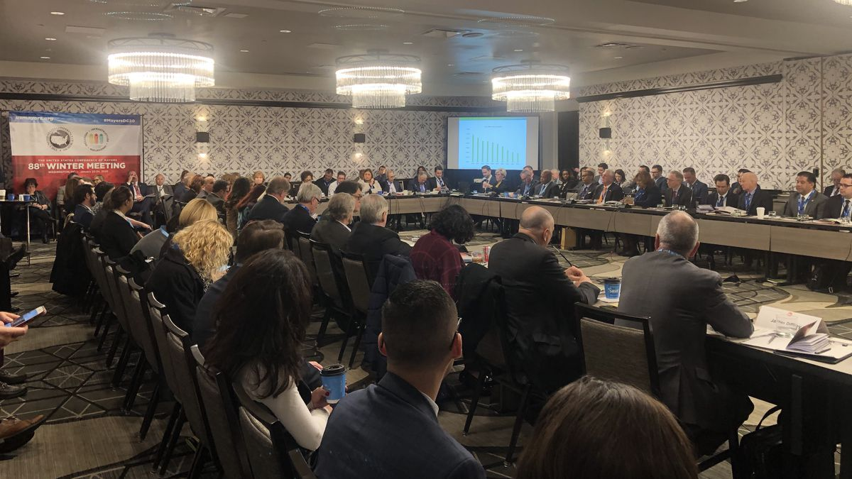 The USCM begins with a panel discussion in Washington, DC. (Source: Gray DC)