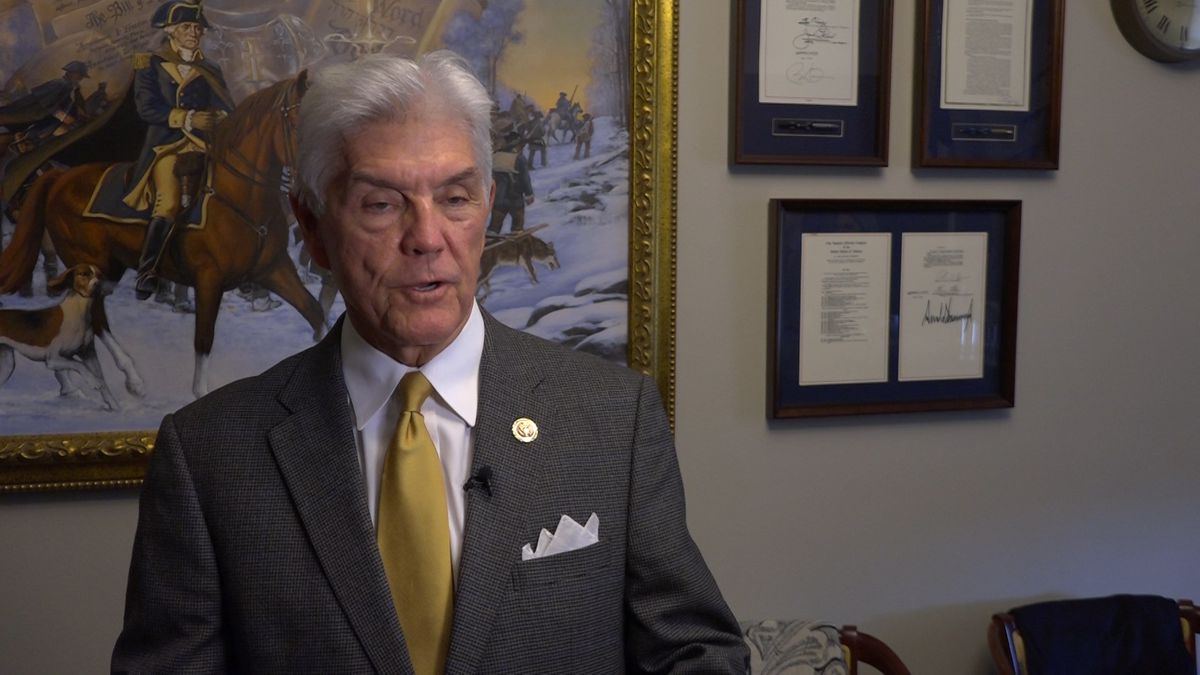 Rep. Roger Williams (R-TX) discussed the bill in his Rayburn office on Capitol Hill. (Source:...
