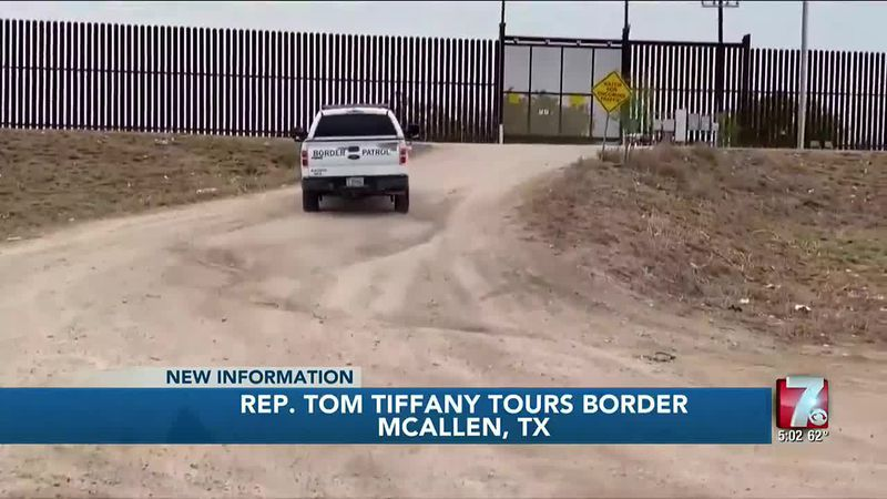 Congressman Tiffany tours U.S.-Mexico border with other GOP politicians