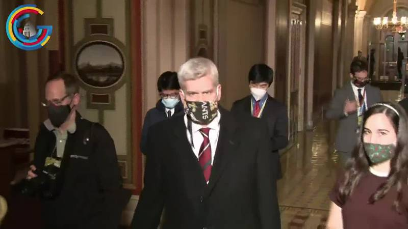 Bill Cassidy reacts to impeachment trial
