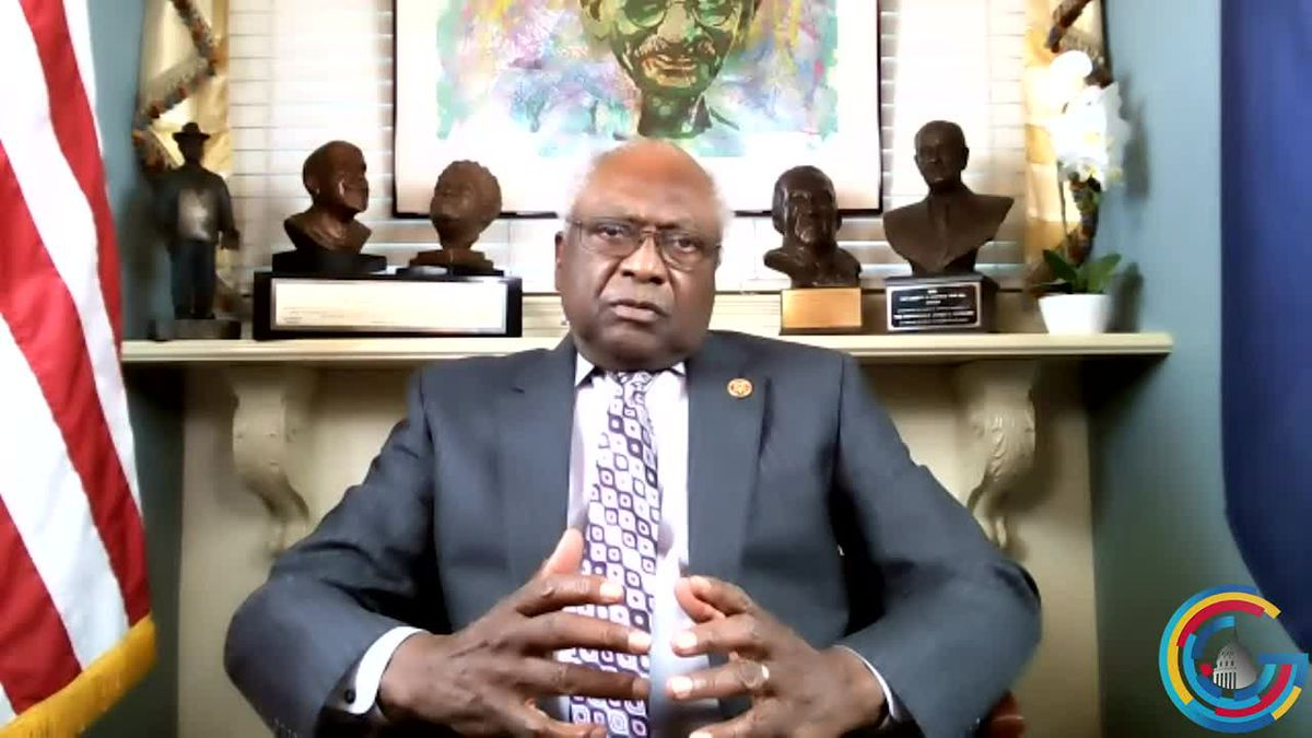 Rep. Jim Clyburn talks about his role as chair of the Biden inaugural planning committee