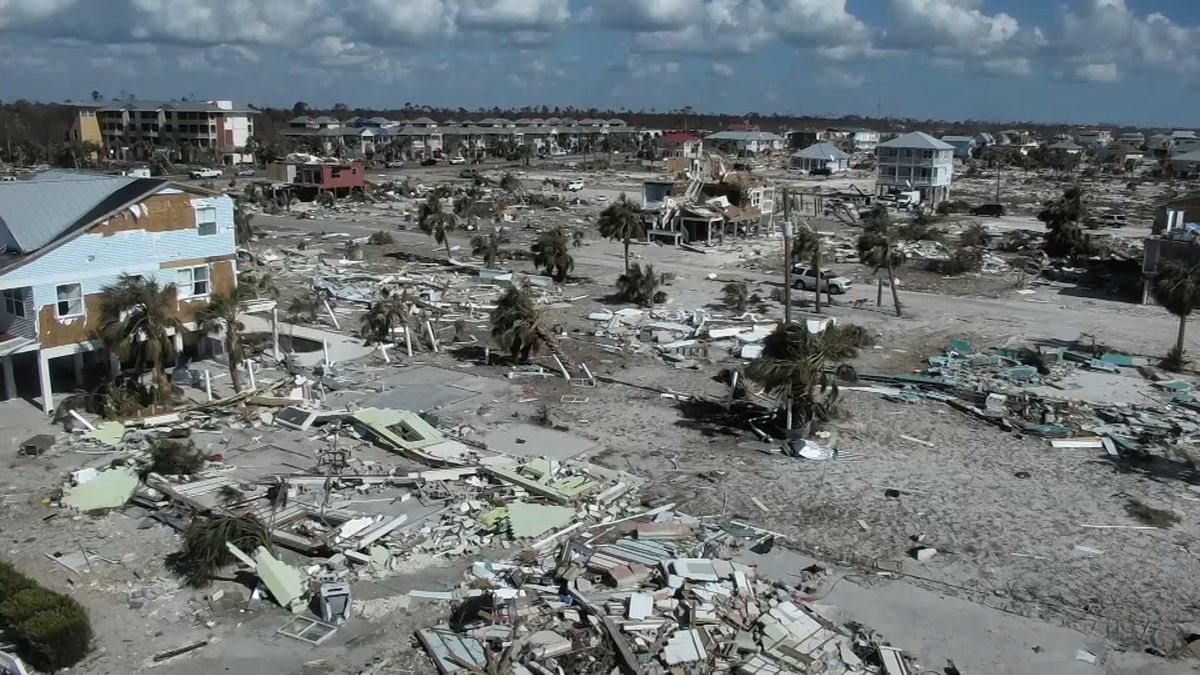 The Florida Panhandle saw loss of life and severe damages as a result of the 2018 Hurricane Michael Category 5 storm. The aftermath felt deeply on Mexico Beach and other neighboring communities. (Source: CNN)