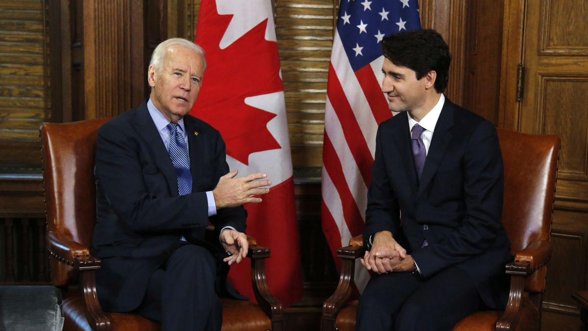 FILE - In this Dec. 9, 2016 file photo, Canadian Prime Minister Justin Trudeau meets with...