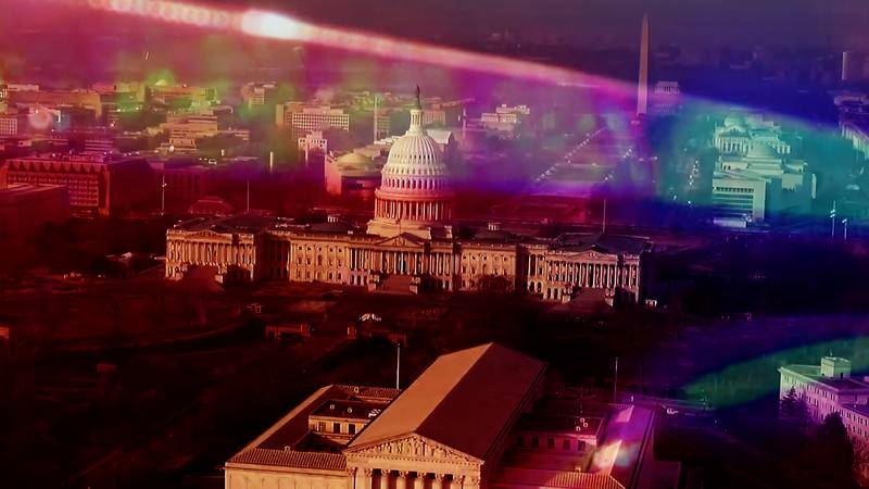 Capitol police lights