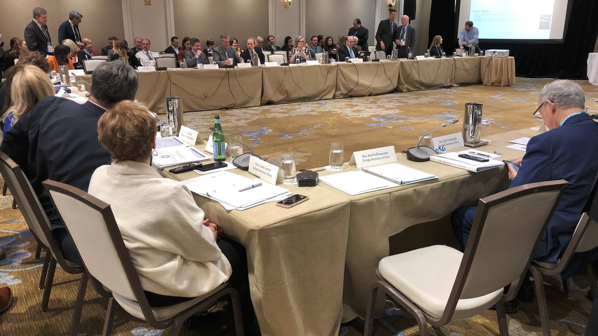 Secretaries of State from across the nation are in Washington to talk about how to keep votes secure heading into the 2020 election. (Source: Gray DC)