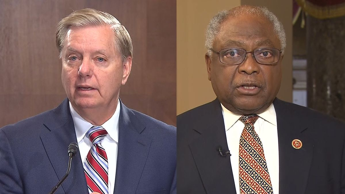 Clyburn, Graham speak about key issues on Capitol Hill.