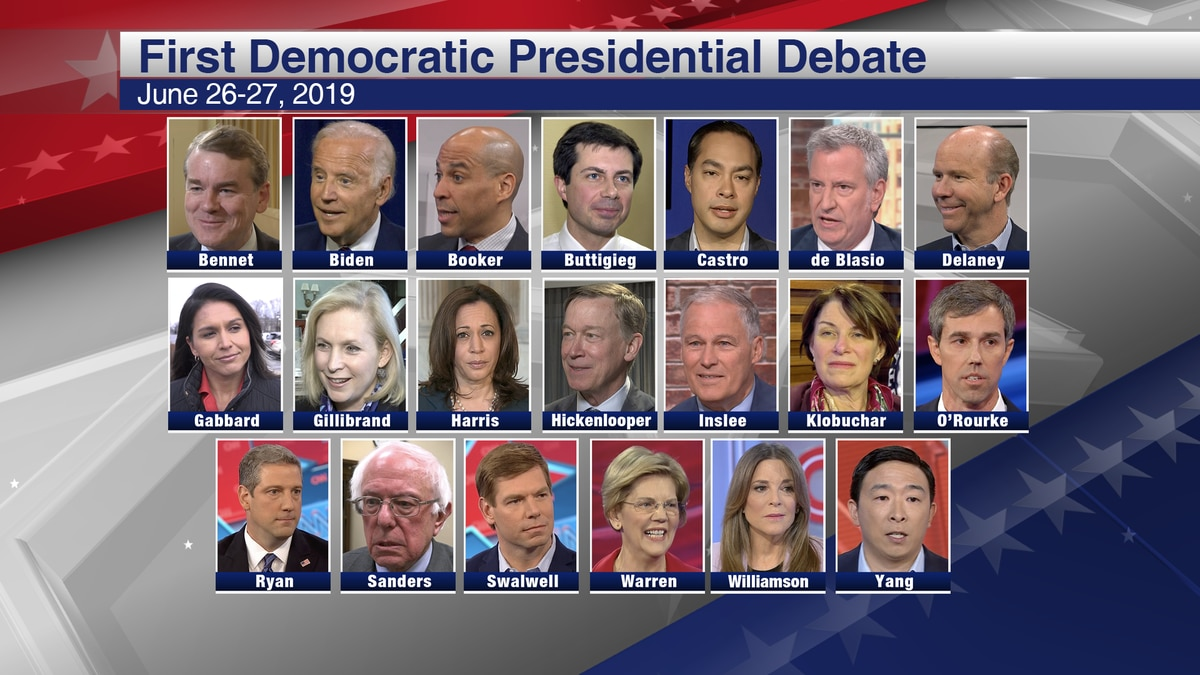 Lawmakers react to first round of 2020 presidential debate. (Source: Gray DC)