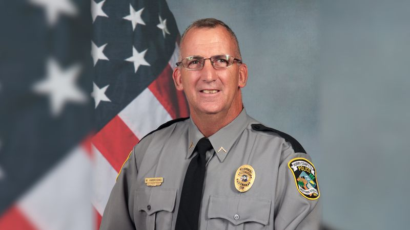 Horry County Police Department Corporal Michael Ambrosino died in the line of duty last year.