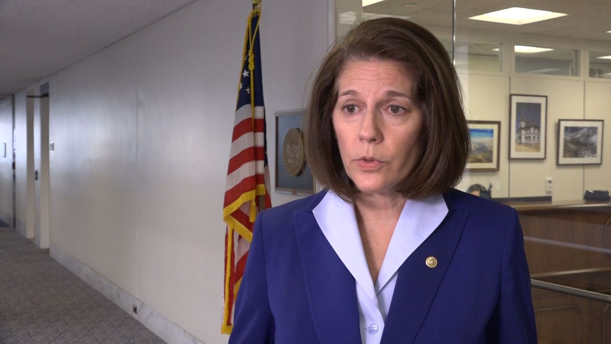 Nevada's Senator Cortez Masto said there has to be data privacy laws at the federal level to protect a person's digital footprint. (Source: Gray DC)
