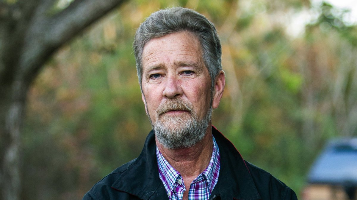 FILE - In this Dec. 5, 2018 file photo, Leslie McCrae Dowless Jr. poses for a portrait outside...