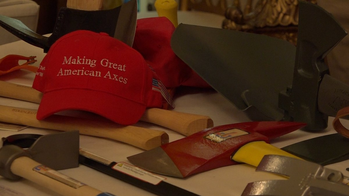 Council Tool showed off their items at the White House's 'Made in America' event. (Source:...