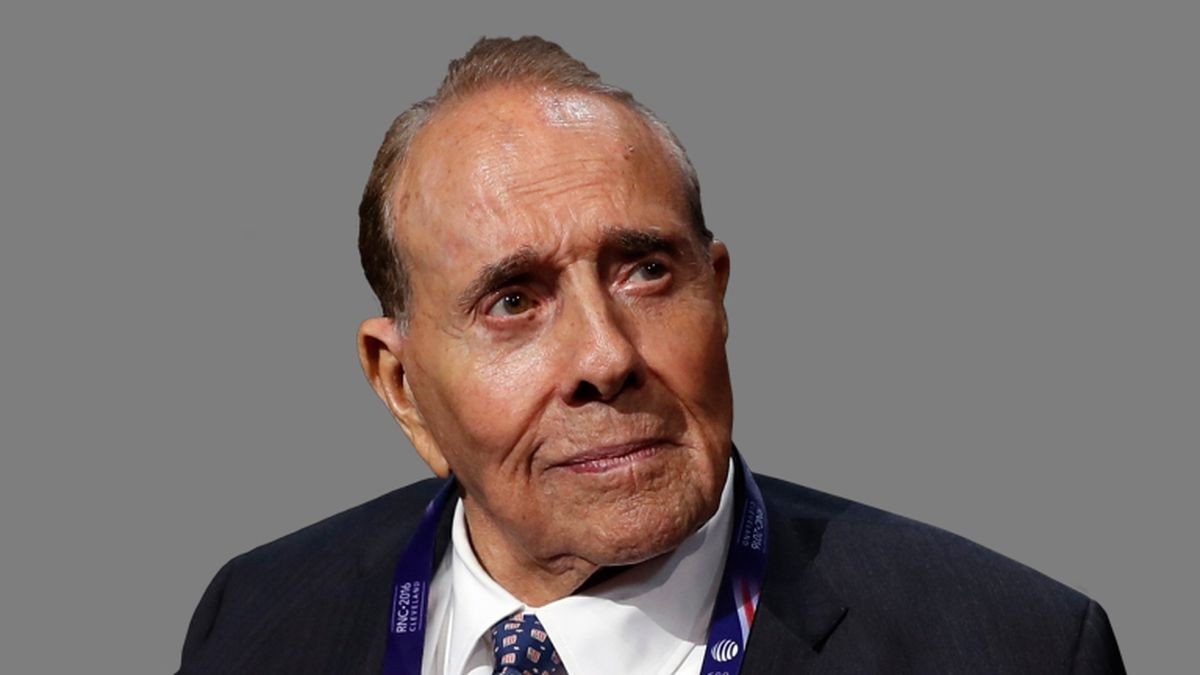 Former Sen. Bob Dole announced his cancer diagnosis on