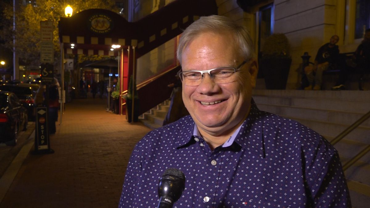 Randy Harwood said he is so excited to be a volunteer this year to prepare Christmas...