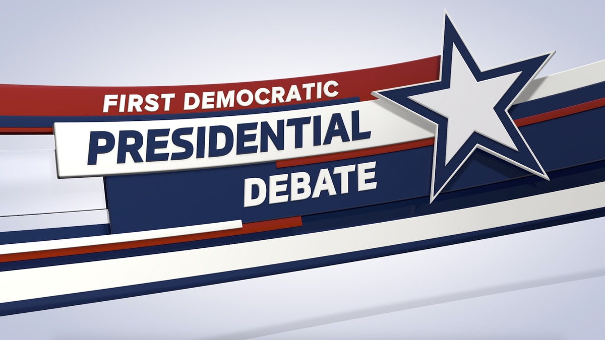NBC has announced the lineups for the first Democratic presidential debates. (Source: Gray DC)
