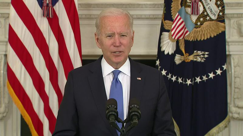 U.S. President Joe Biden will join a meeting by video link of presidents of countries on NATO's...