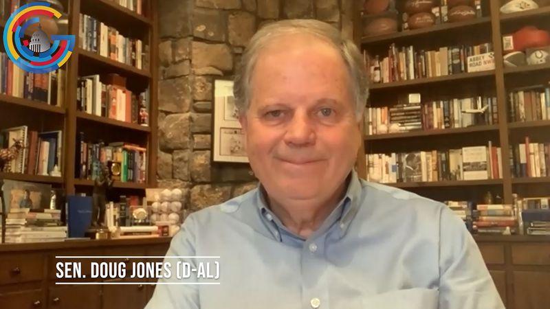 Sen. Doug Jones (D-AL) discusses Senate loss